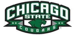 Chicago State University logo.