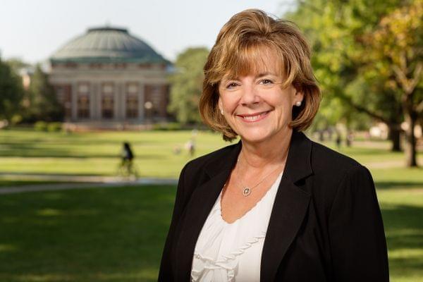 University of Illinois's Interim Chancellor Barbara Wilson.