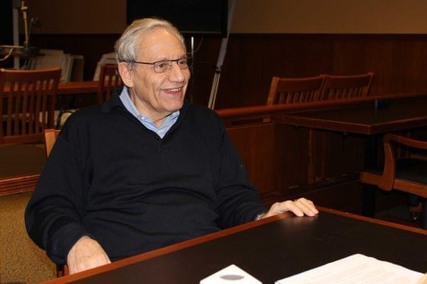 Bob Woodward talks with Niala Boodhoo