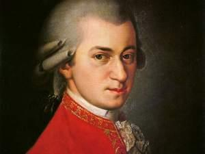 Painting of Mozart