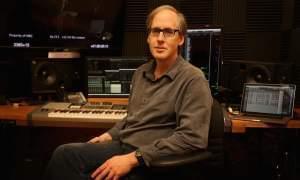 Jeff Beal in his recording studio.