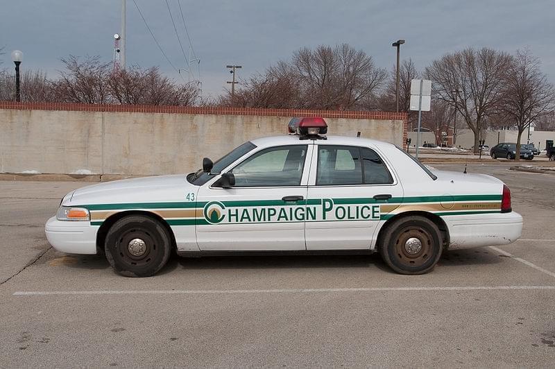 Champaign Police Car