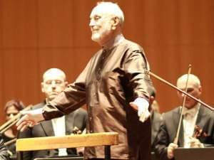 Man conducting an Orchestra