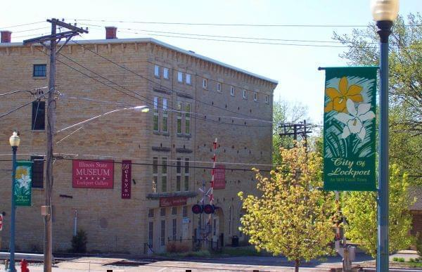 Illinois State Museum Lockport Gallery, in the 1850 Norton Building in Lockport, Illinois.