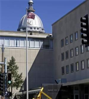 A Sept. 30, 2015 file photo of the Illinois State Museum in Springfield. In the background is the dome of the state Capitol.
