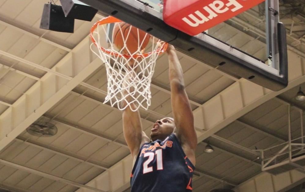 Illini men's basketball player Malcom Hill