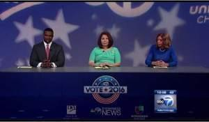 Congresswoman Tammy Duckworth, former Chicago Urban League President Andrea Zopp and State Senator Napoleon Harris debate Friday in Chicago.