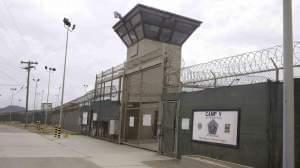 The entrance to Camps 5 and 6 at Guantanamo Bay