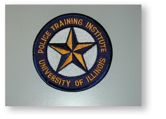 Arm patch from U of I Police Training Institute