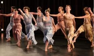 The Mark Morris Dance Group performing on stage