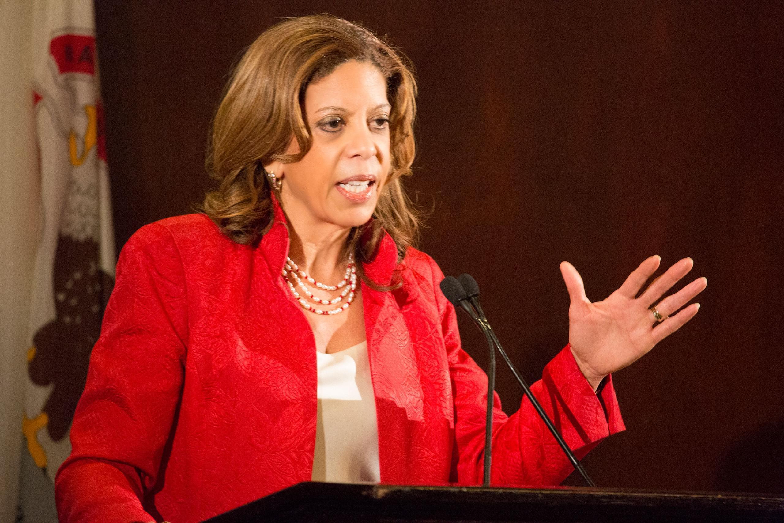 Democratic U.S. Senate candidate Andrea Zopp