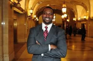 Fifteenth District State Senator Napoleon Harris (Democrat, Harvey)