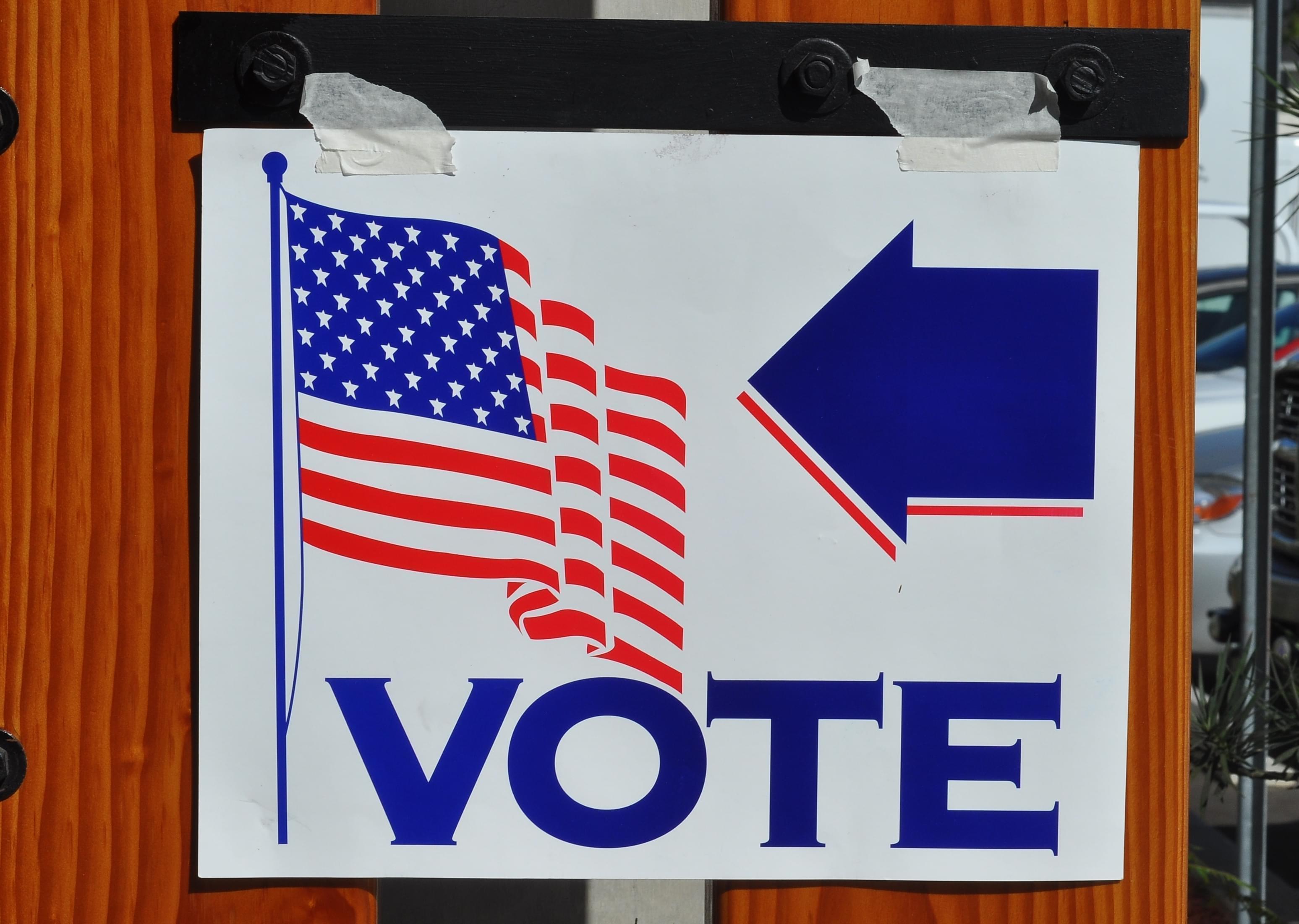 US Voting graphic
