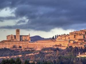 Assisi, Italy skyline