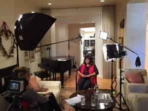Behind the scenes of the interview with Chaz Ebert for Ebertfest 2016: Center of the Universe.