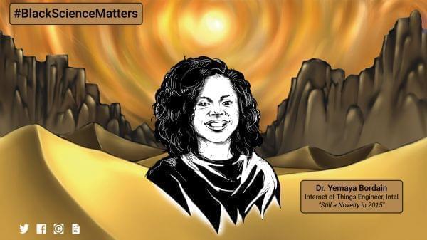 Black Science Matters screen capture