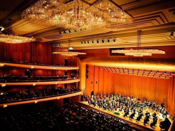 Abravanel Hall, home of the Utah Symphony Orchestra
