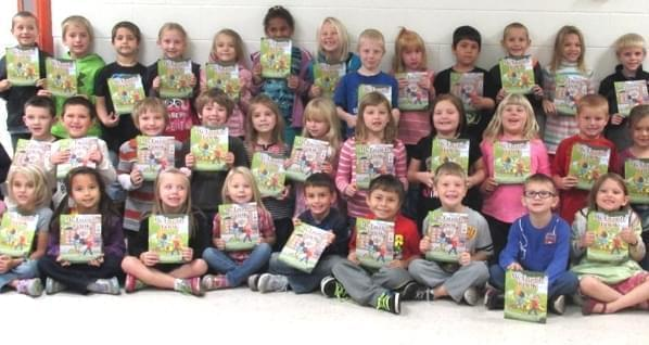 First graders at Altamont Grade School.