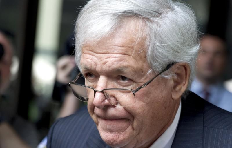 In this June 9, 2015 file photo, former U.S. House Speaker Dennis Hastert departs the federal courthouse in Chicago.