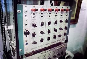 One of the panels of the original Harmonic Tone Generator