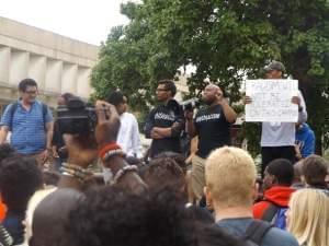 SIU protest