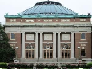 Foellinger Auditorium at the University of Illinois' Urbana campus