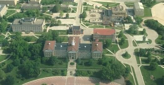 Sherman Hall on the campus of Western Illinois University at Macomb.