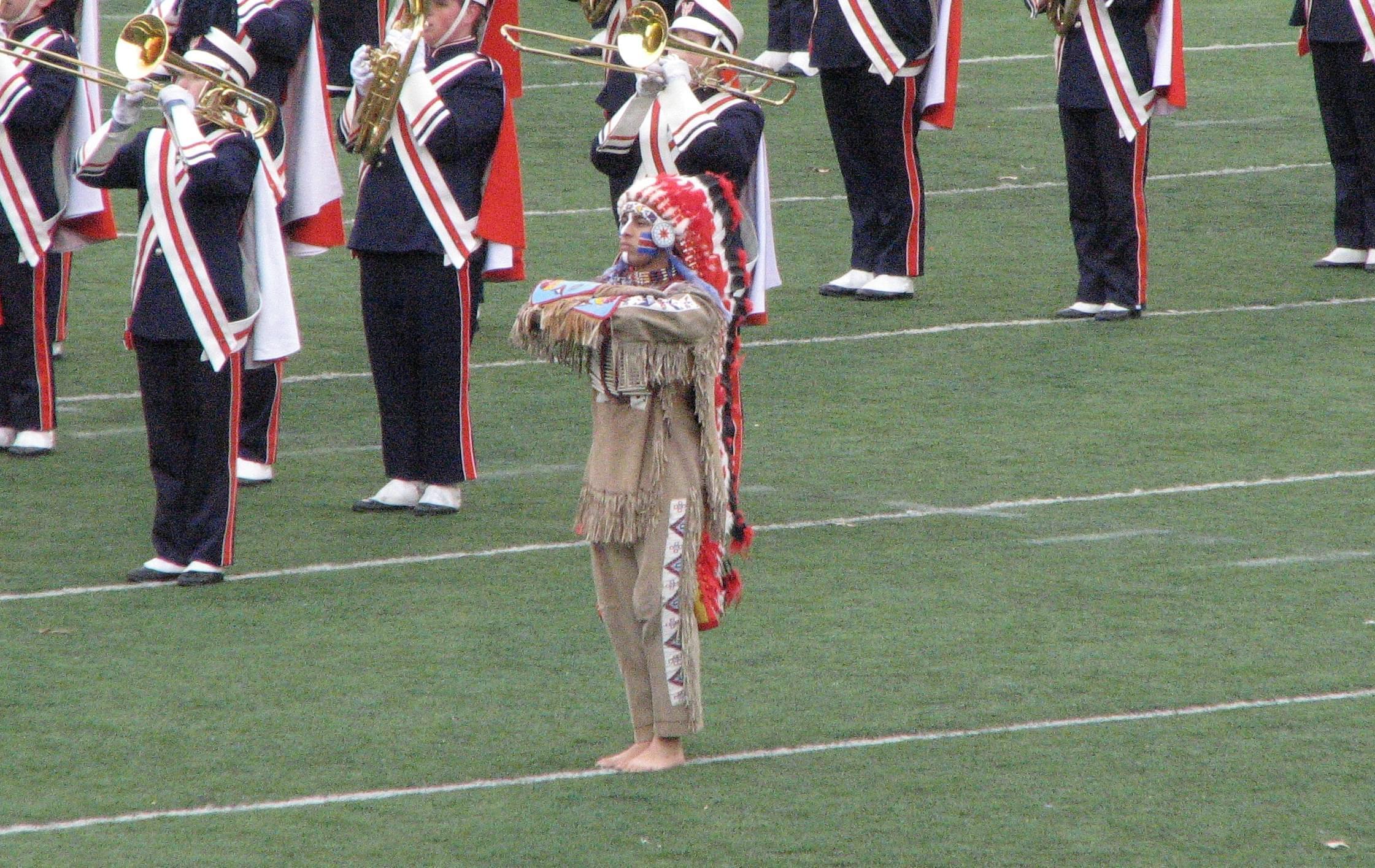 Chief Illiniwek.