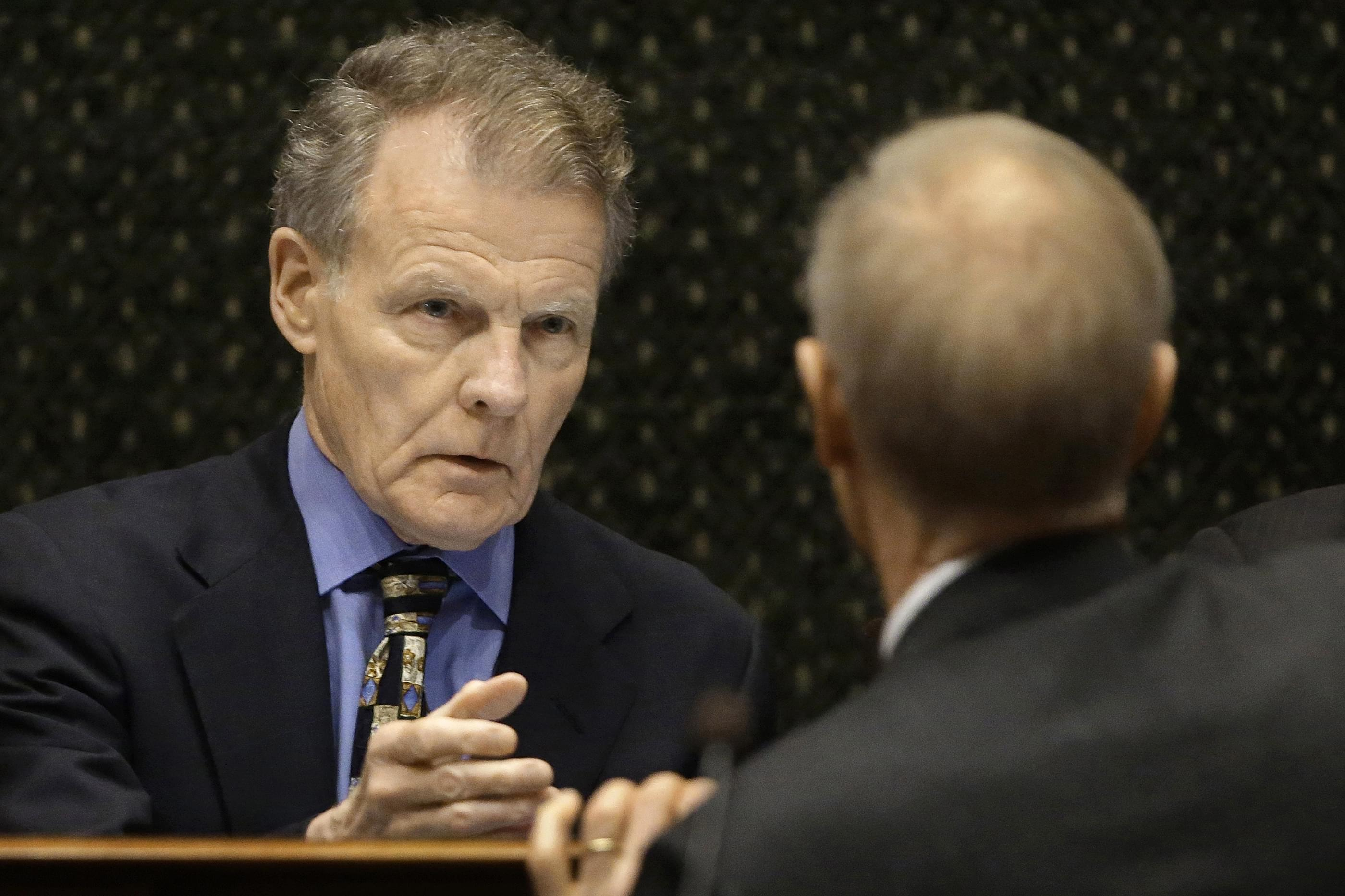 Illinois Speaker of the House Michael Madigan reaches out to Illinois Gov. Bruce Rauner