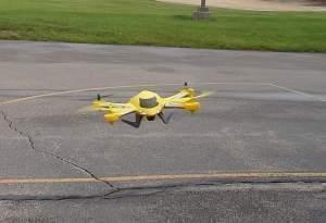 A Horizon Hobby Blade Zeyrock micro-drone.