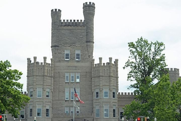 The Livingston C. Lord Administration Building at Eastern Illinois University.