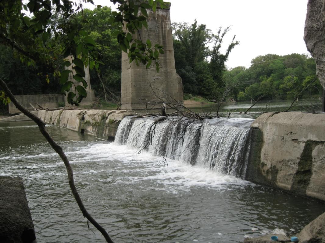 The Vermilion River, running through Danville.