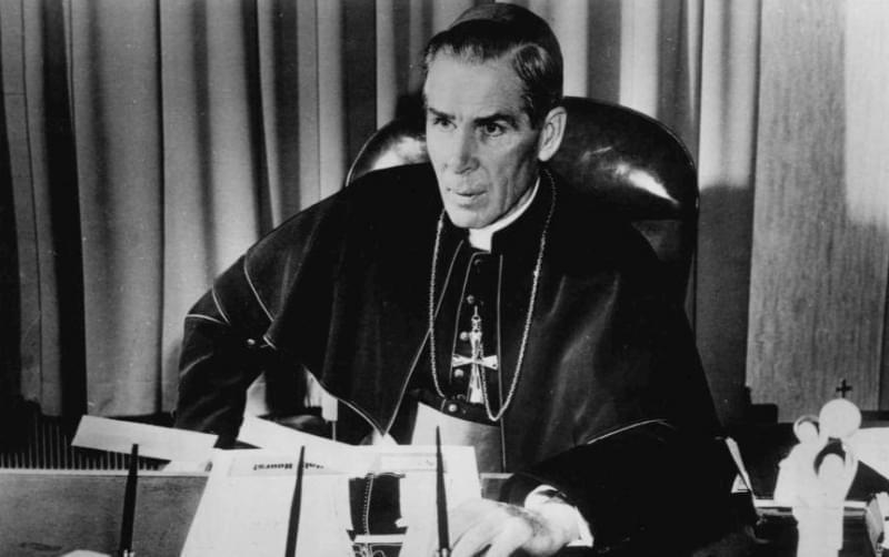 Archbishop Fulton J. Sheen.