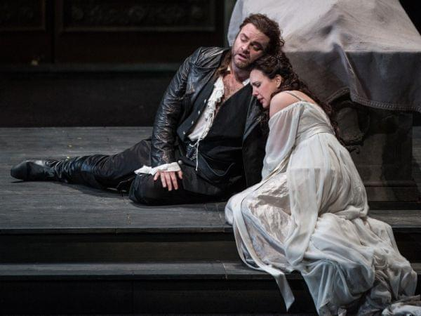 Romeo and Juliet on stage