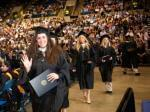 UIS Graduates during commencement ceremony.