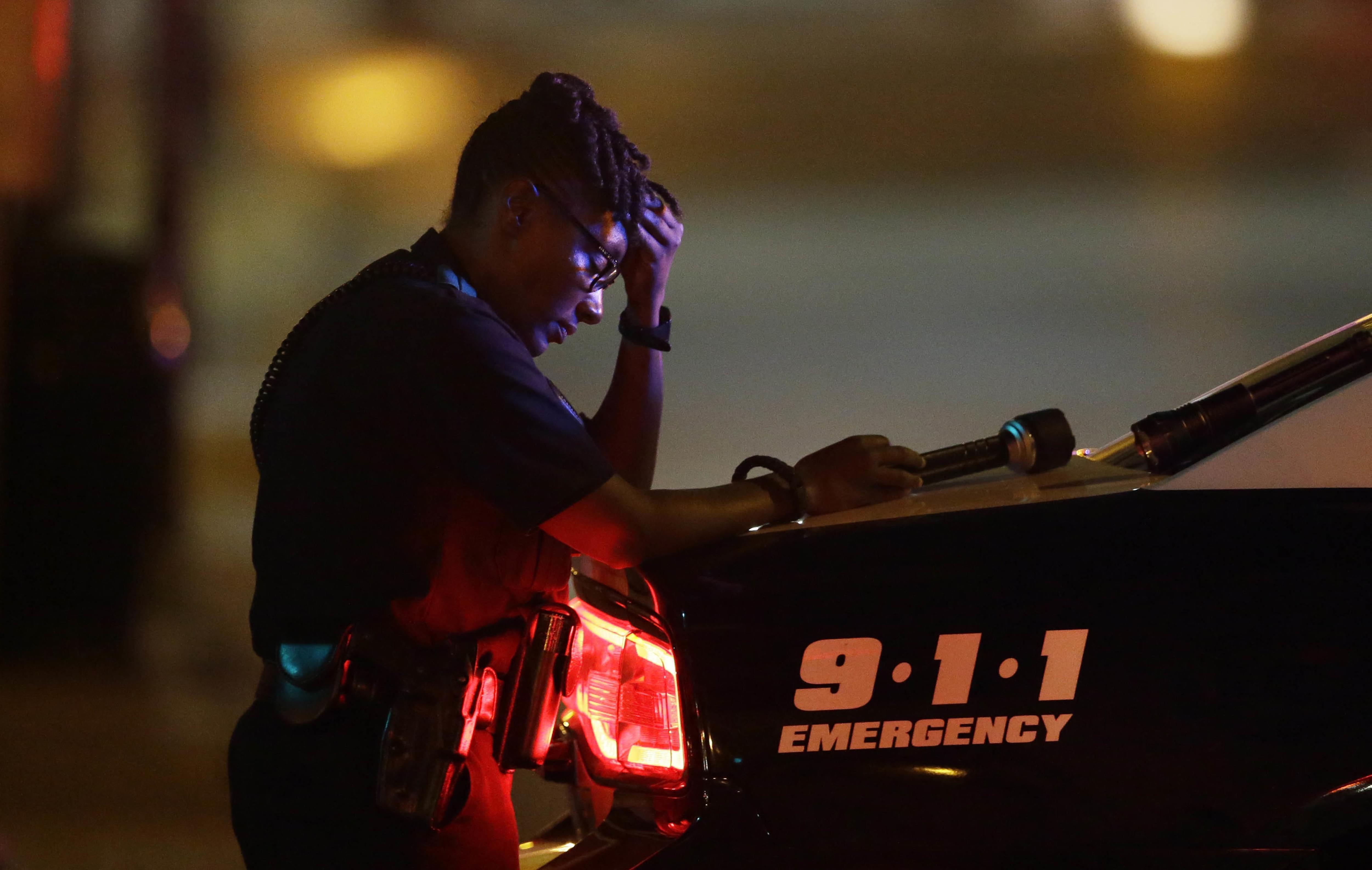 police shootings in Dallas