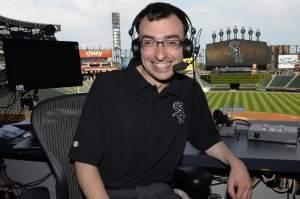 White Sox home play-by-play TV announcer Jason Benetti