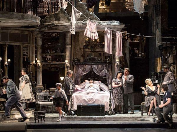 The Los Angeles Opera performing Gianni Schicchi