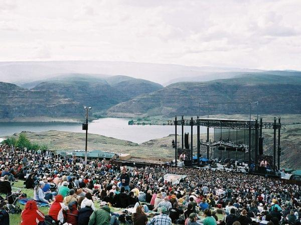 The Gorge Amphitheatre during the Sasquatch! Music Festival in 2009