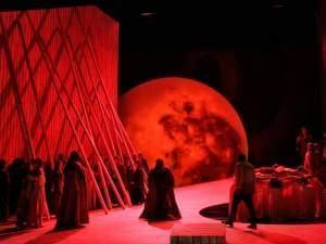 The Los Angeles Opera performing Norma