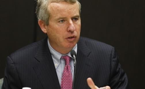 Christopher Kennedy's introduction to the media as a potential candidate for Illinois governor in 2018 got off to a rocky start at the Democratic National Convention.