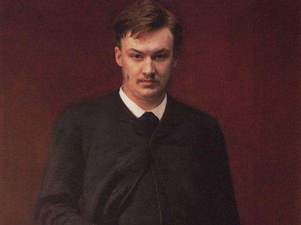 Portrait of Glazunov, 1887