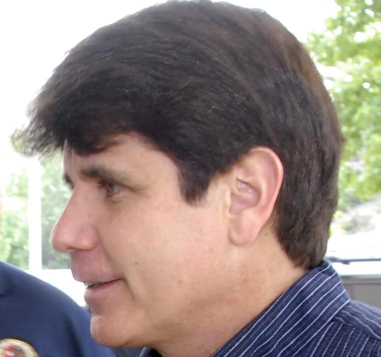 Then-Governor Rod Blagojevich in 2008.