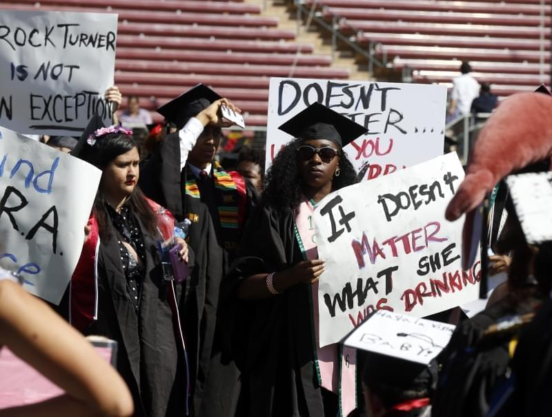 Stanford sexual assault protest