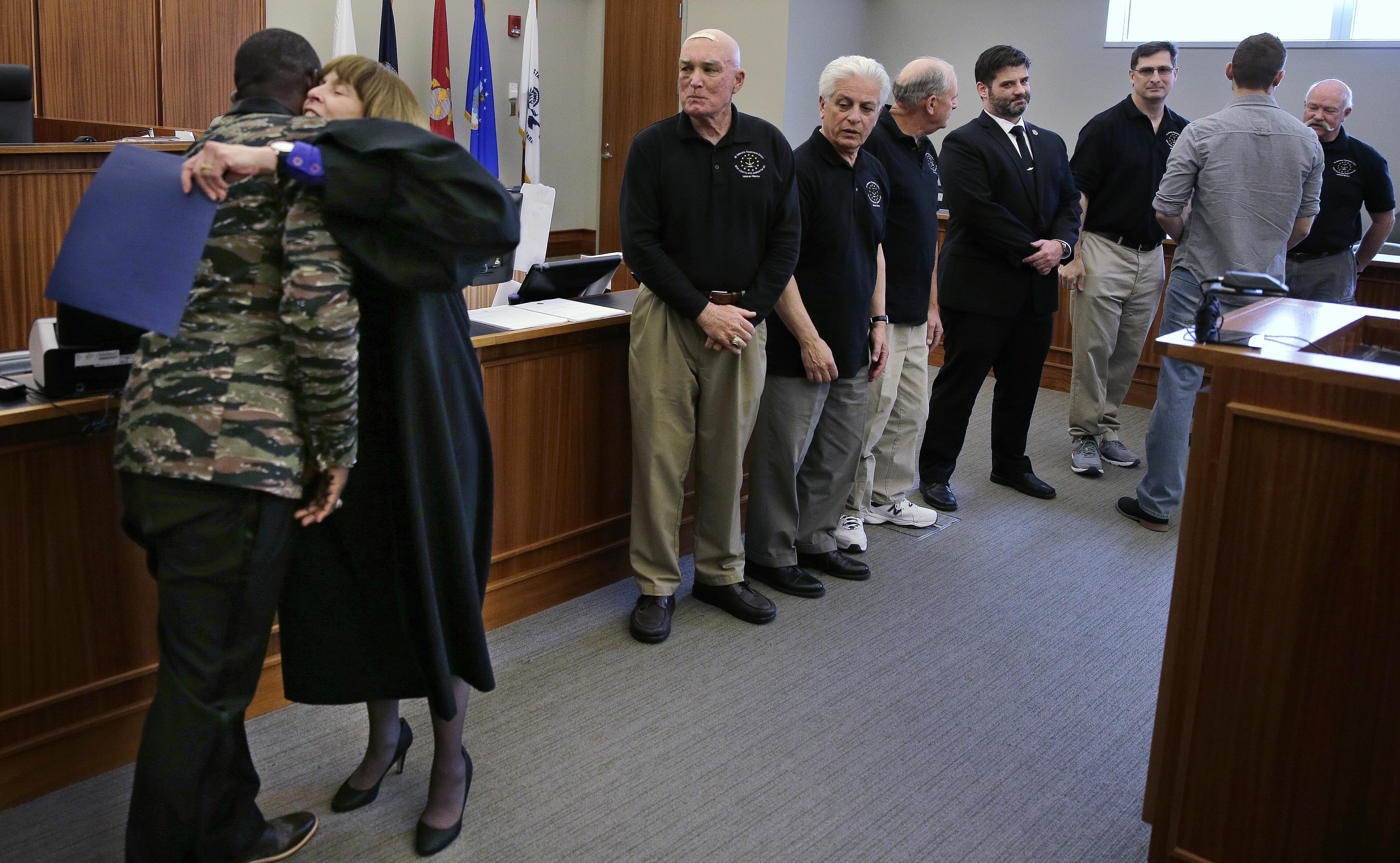 veterans courts