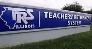 The board of the Illinois Teachers Retirement System, which serves more than 400,000 teachers outside of Chicago, voted to lower its expected rate of return on investments Friday in Springfield.