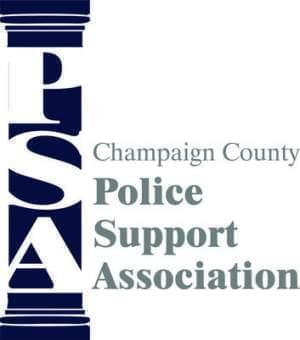 Logo for the new Police Support Association of Champaign Co.