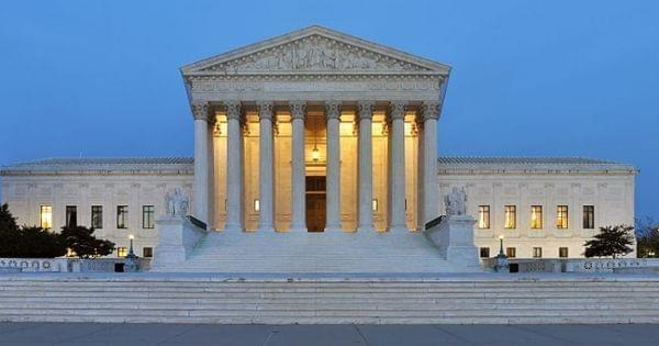 Panorama of U.S. Supreme Court Building