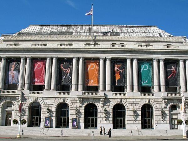 National Register of Historic Places in San Francisco, California. War Memorial Opera House