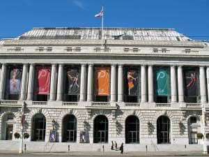 National Register of Historic Places in San Francisco, California. War Memorial Opera House
